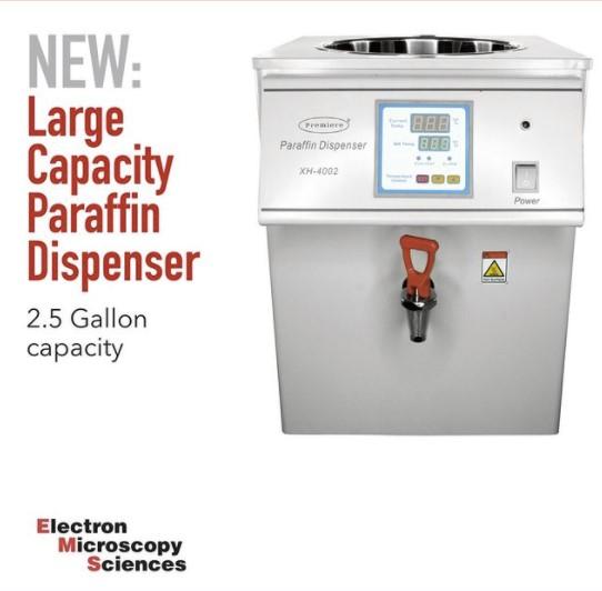 Large Capacity Paraffin Dispenser