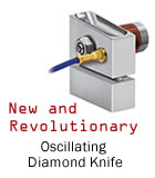 oscillating diamond knife