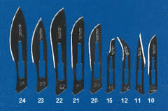 Scalpels Blades and Knives