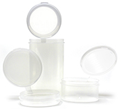 Hinged Plastic Containers