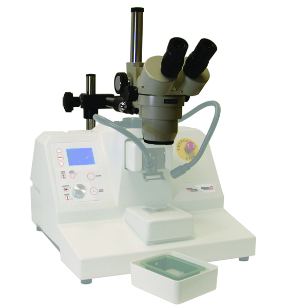 Integrally Mounted Inspection Microscope